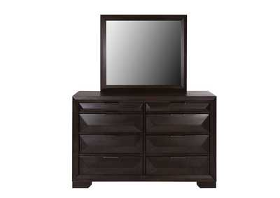 Image for Newland Cappuccino Dresser and Mirror