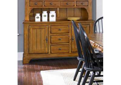 Image for Treasures Rustic Buffet - Oak