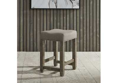 Image for Parkland Falls Taupe Console Stool
