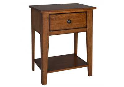 Image for Grandpas Cabin Aged Oak Night Stand