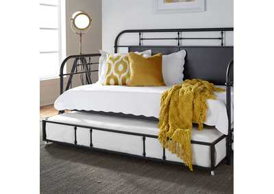 Image for Vintage Series Black Metal Twin Daybed w/Trundle