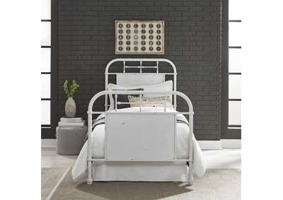 Image for Vintage Series Full Metal Bed - Antique White