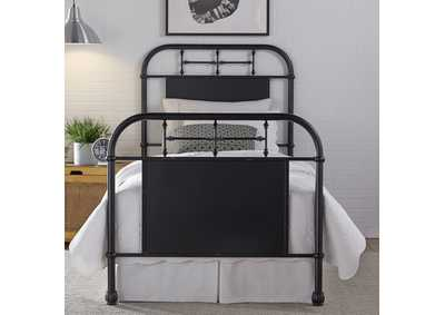Image for Vintage Series Full Metal Bed - Black
