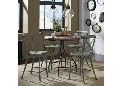 Image for Vintage Series Grey Pub Table