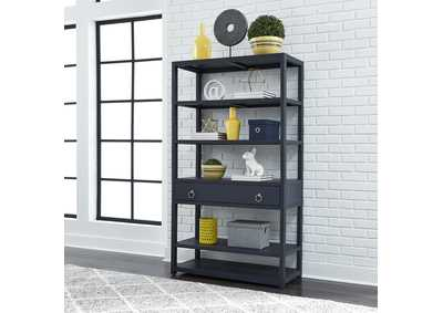Image for Midnight Denim Accent Bookcase