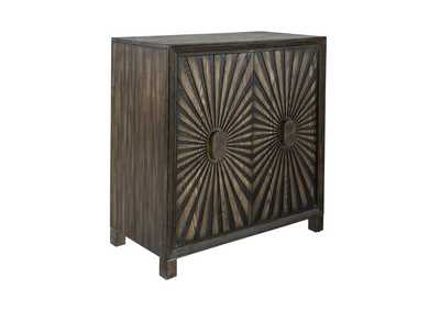 Image for Chaucer Aged Whiskey 2 Door Wine Accent Cabinet