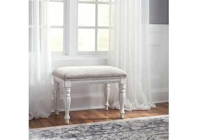 Image for Magnolia Manor Antique White Accent Bench