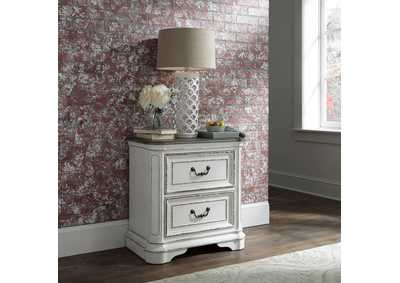 Image for Magnolia Manor Antique White 2 Drawer Night Stand
