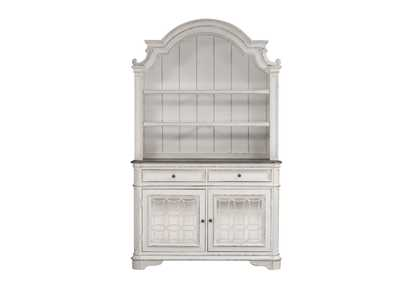 Image for Magnolia Manor White China Cabinet