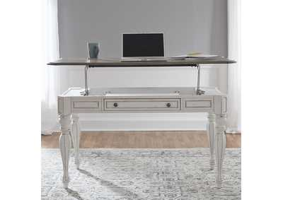 Image for Magnolia Manor Antique White Lift Top Writing Desk