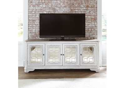 Image for Magnolia Manor Antique White TV Console