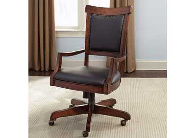 Image for Brayton Manor Cognac Jr Executive Desk Chair (RTA)