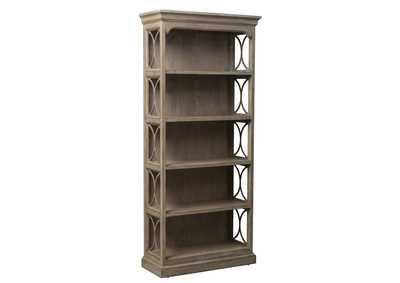 Image for Simply Elegant Heathered Taupe Bookcase
