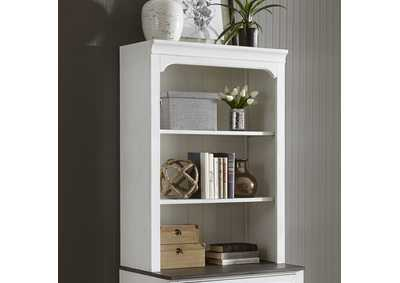 Image for Allyson Park White Bunching Lateral File Hutch
