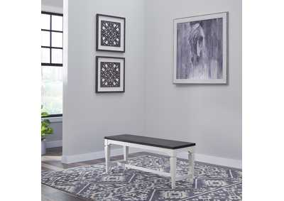 Image for Allyson Park Wirebrushed White  Nook Bench