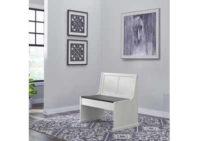 Image for Allyson Park Wirebrushed White  37 Inch Nook Bench