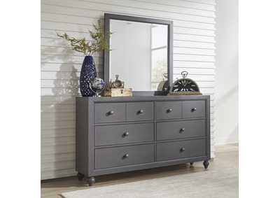 Image for Cottage View Dark Gray Dresser and Mirror
