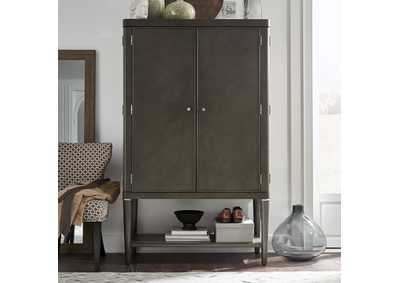 Image for Essex Satin Gray Armoire