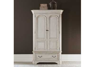 Image for Abbey Road Porcelain White Armoire
