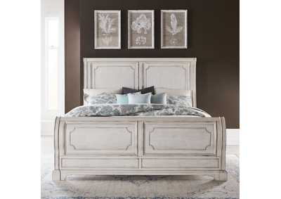 Image for Abbey Road Porcelain White California King Sleigh Bed