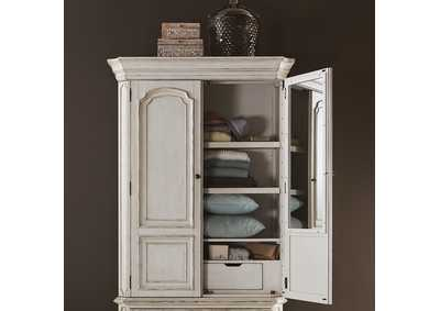 Image for Abbey Road White Armoire Top