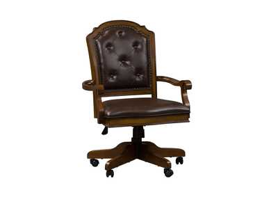 Image for Amelia Antique Toffee Jr Executive Office Chair