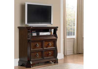 Image for Arbor Place Brown Media Chest