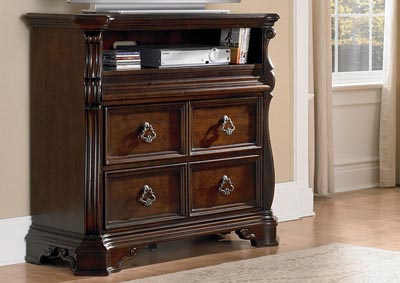 Image for Arbor Place Brownstone Media Chest