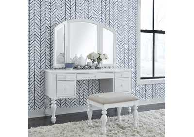 Image for Summer House I Oyster White Vanity