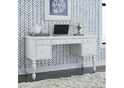 Image for Summer House I White Vanity Desk