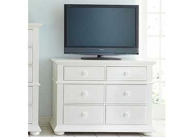 Image for Summer House I White Media Chest