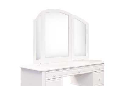 Image for Summer House I Oyster White Vanity Mirror