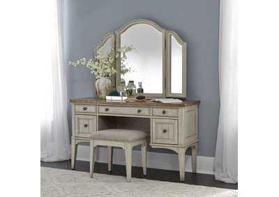 Image for Farmhouse Reimagined Antique White Vanity