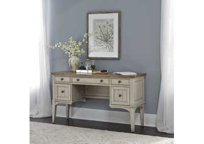 Image for Farmhouse Reimagined Antique White Vanity Desk
