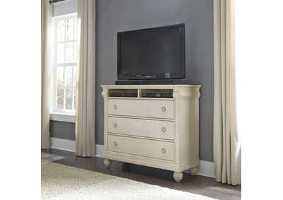 Image for Rustic Traditions II White Media Chest