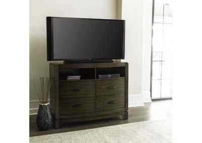 Image for Avalon Pebble Brown Media Chest