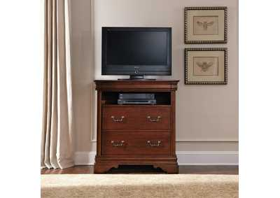 Image for Carriage Court Mahogany Media Chest