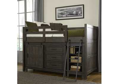 Image for Thornwood Hills Rock Beaten Gray Twin Loft Bed