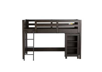 Image for Thornwood Hills Gray Twin Loft Bed