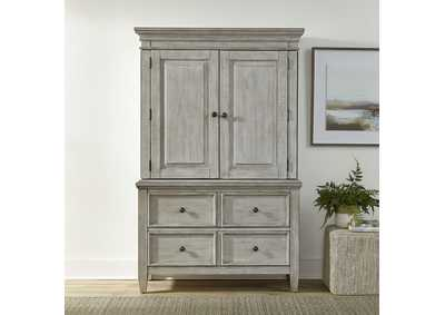 Image for Heartland Antique White Armoire