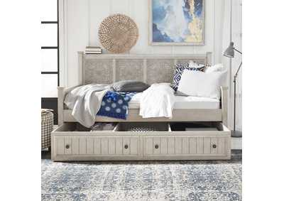 Image for Heartland Antique White Twin Trundle Bed
