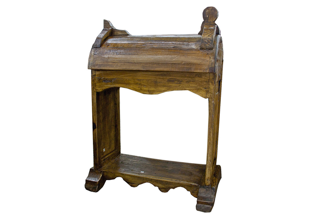 Old Wood Saddle Stand,L.M.T. Rustic