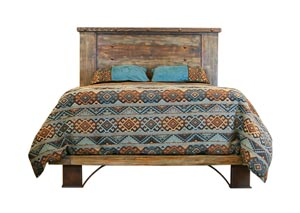 Urban Rustic Queen Headboard