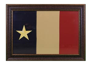 "Large ""Dobson"" Flag Framed"