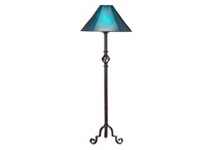 Iron Floor Lamp (No Shade)