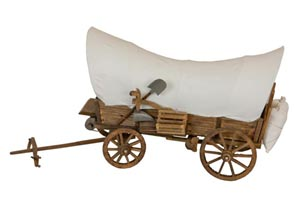 Miniature Covered Wagon