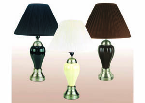 "Image for Squash Black 27"" Table Lamp (6 Pack)"
