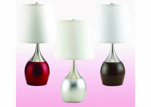 "Image for Kissies Chocolate 24"" Table Lamp (4 Pack)"
