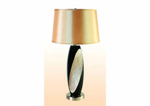 "Image for Abbot Black & Ivory 30"" Table Lamp (2 Pack)"
