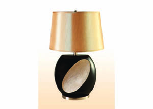 "Image for Costello Black & Ivory 26"" Table Lamp (2 Pack)"